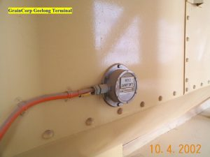 Grain Terminal Level Switch